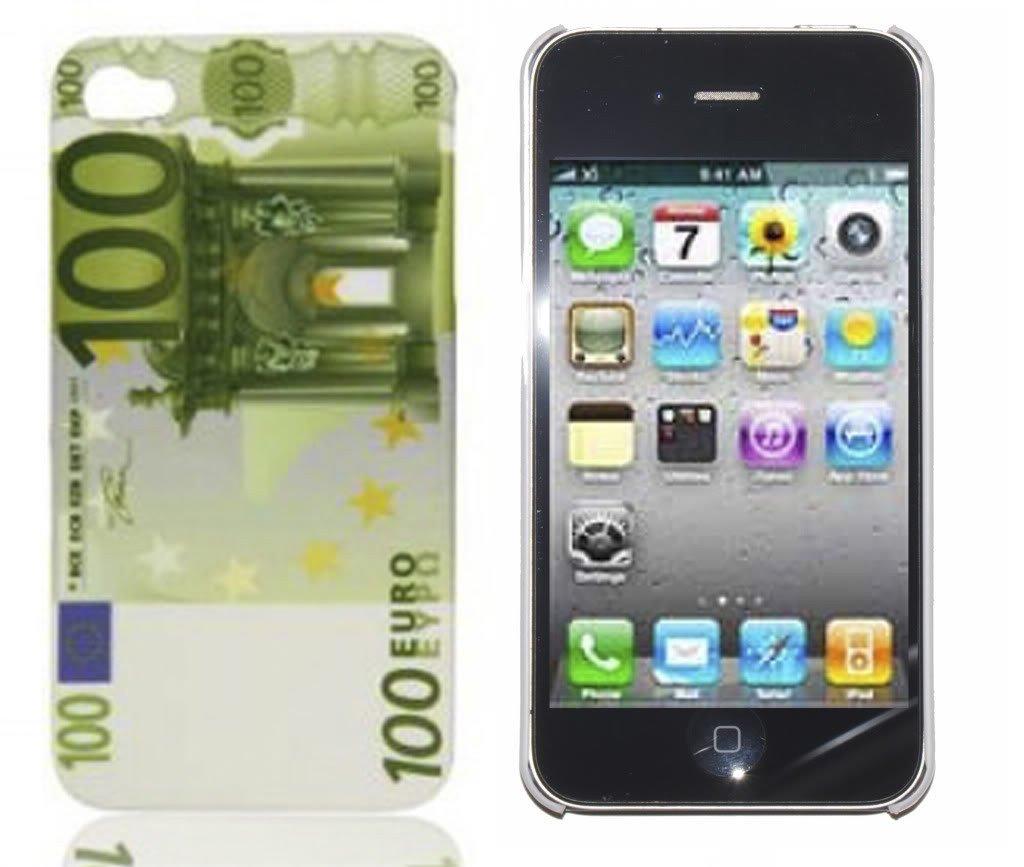 iPhone 4S 100 Euro case