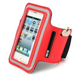 iPhone 4 Sports Running case - Red