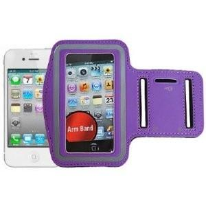 iphone 5 Sports Running case - Purple