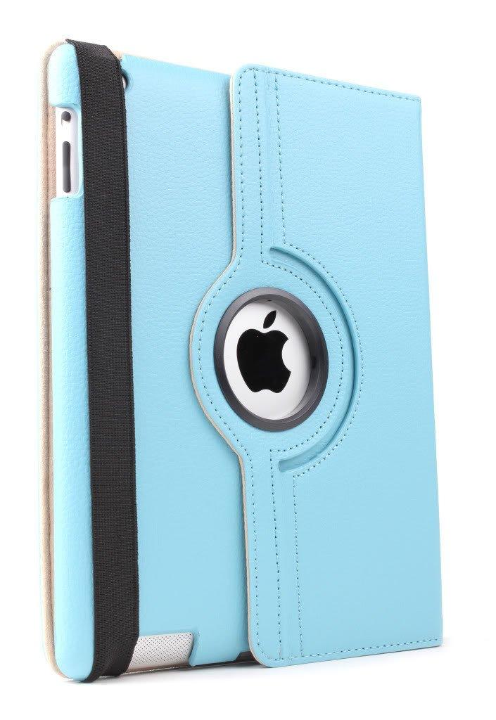 iPad 360 Rotating Case - Blue