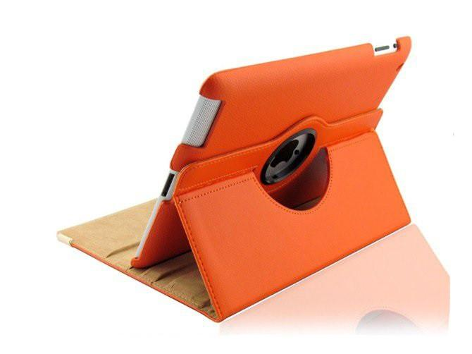 iPad 360 Rotating Case - Orange