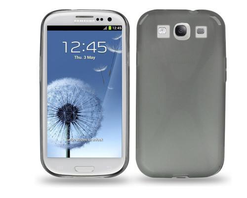 Samsung Galaxy S3 X-Line Case - Grey