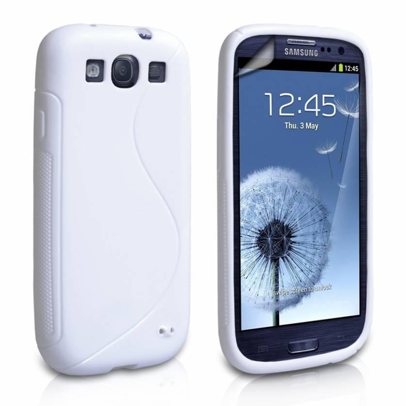 Samsung Galaxy S3 S-Line Case - White