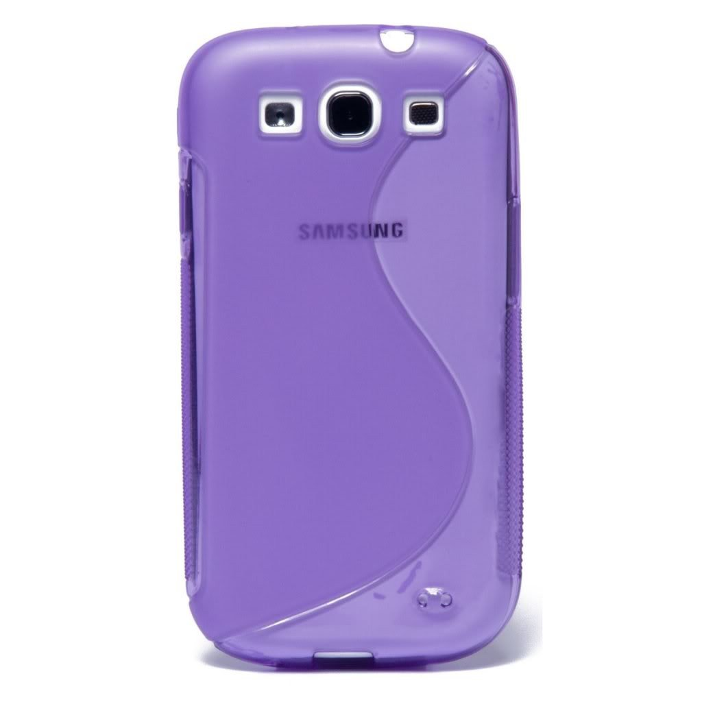 Samsung Galaxy S3 S-Line Case - Purple