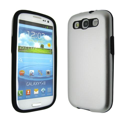 Samsung Galaxy S3 Aluminium case - Silver