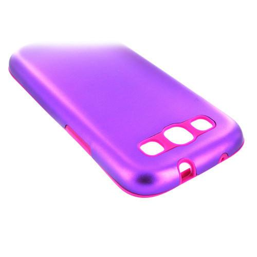 Samsung Galaxy S3 Aluminium case - Purple