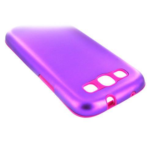 Samsung Galaxy S3 Aluminium case - Purple