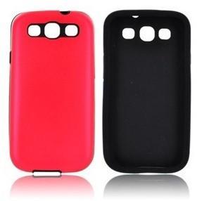 Samsung Galaxy S3 Aluminium case - Red