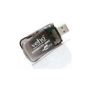 Veho SD/MMC/RS-MMC Card Reader