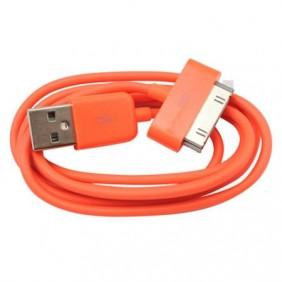 USB Sync & Charge Cable - Orange