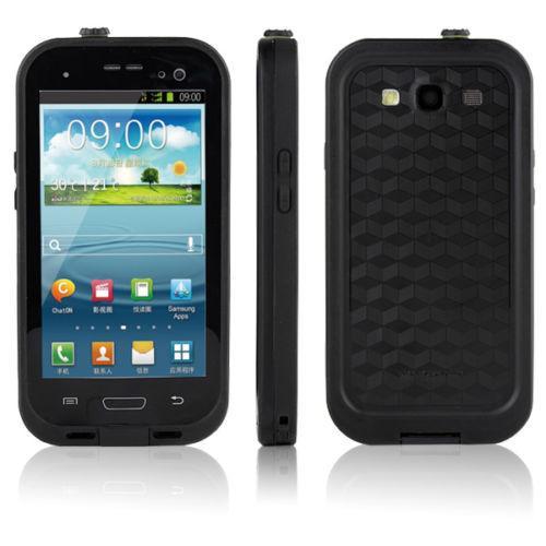 Samsung Galaxy S4 Waterproof Case - Black