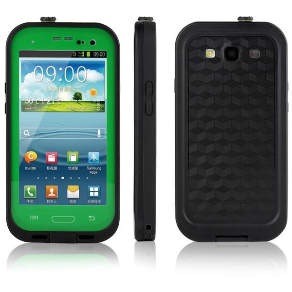 Samsung Galaxy S3 Waterproof Case - Green