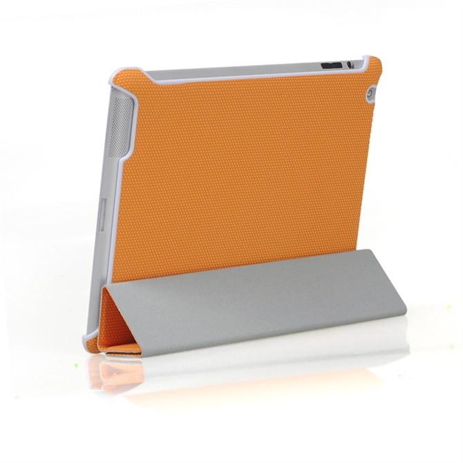 iPad smart grip case - Orange / Black / Red