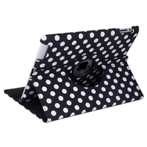 iPad 360 Polka Dot Case - Black