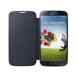 Samsung S4 Flip Book Case - black