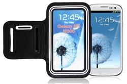 Samsung S3/S4 Sports Running case - White