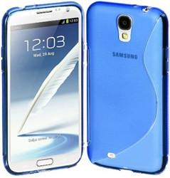 Samsung S4 S-Line Case - Blue