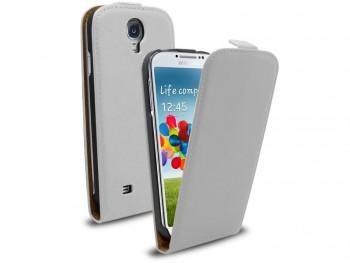 Samsung Galaxy S4 Flip Leather - White