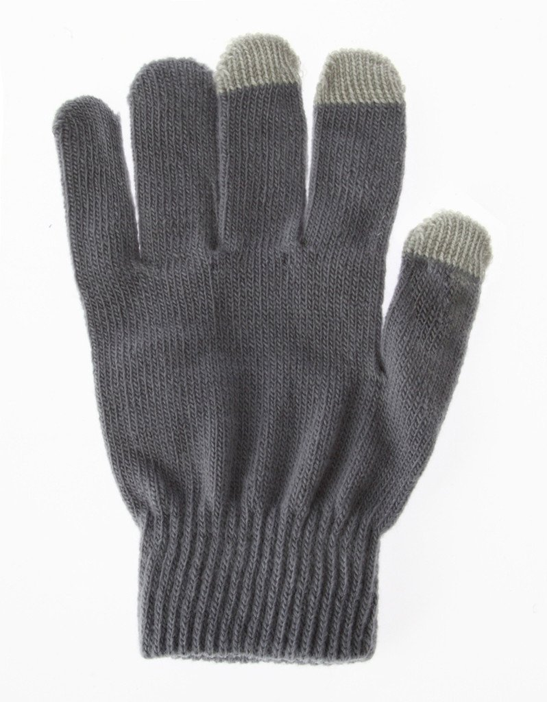 Smart Phone Gloves - Grey