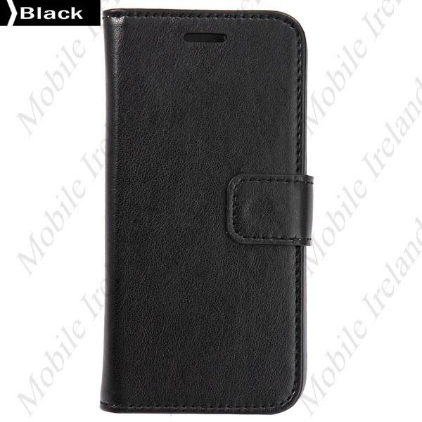 iPhone 6 Flip Leather Wallet  case - black