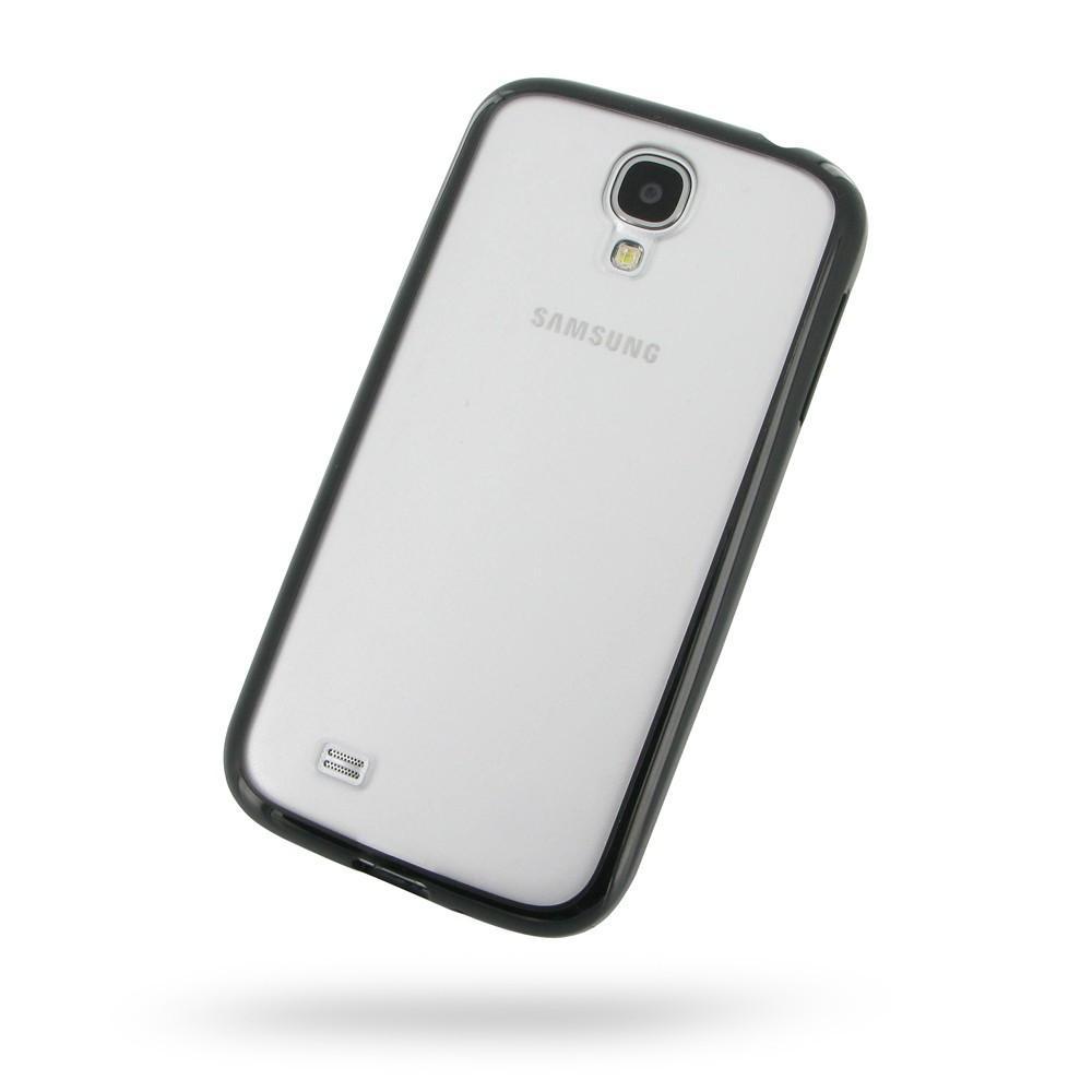 Transparent Samsung S4 Case - Black