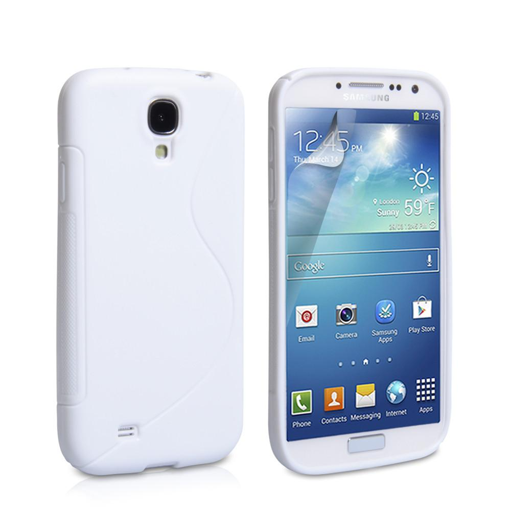 Samsung S4 S-Line Case - White