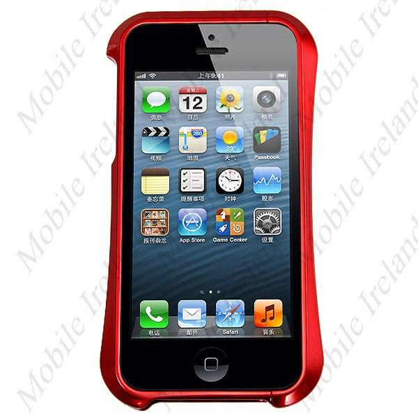 iPhone 5S Metal Bumper Case - Red