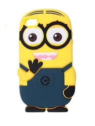 iphone 5 case minion - dark blue