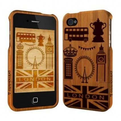 Primovisto iPhone 5/5s bamboo case - London