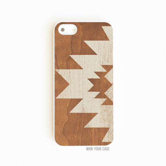 On Your Case iPhone 5/5S Case Aztec Geometric Stone