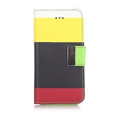 Samsung Galaxy S4 Triple Colour Flip Case - Yellow