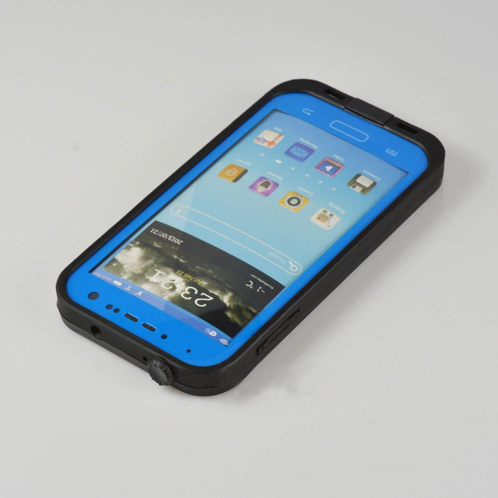 Samsung Galaxy S4 Waterproof Case - Blue