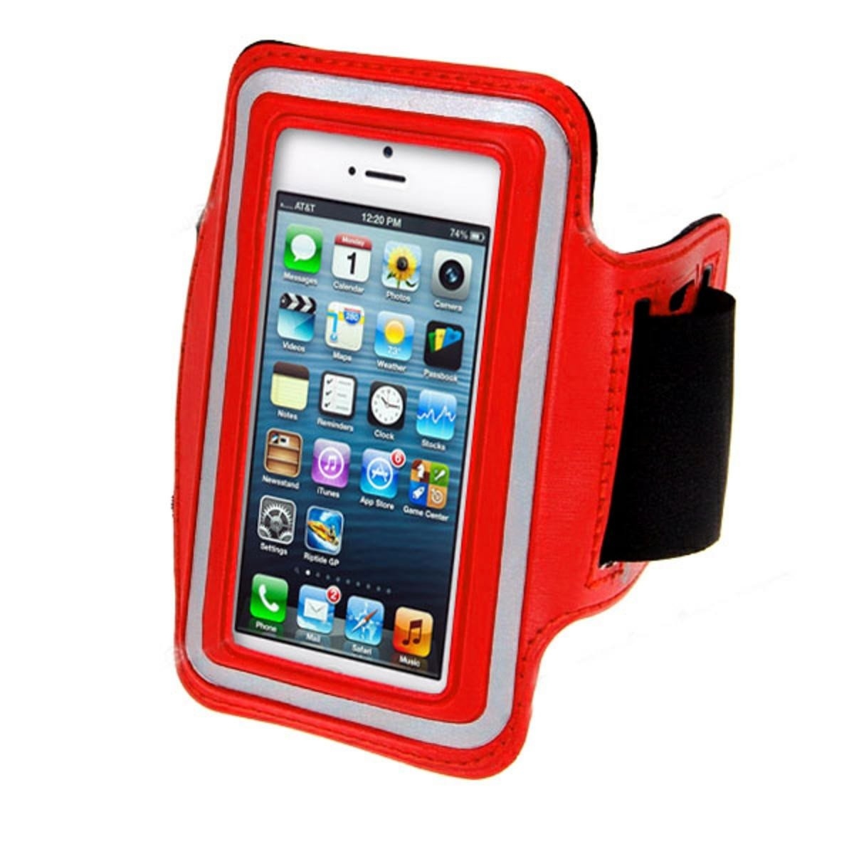 iPhone 5/5s Sports Running case - Red