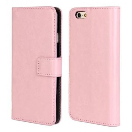 iPhone 6 Flip Leather Wallet  case - pink