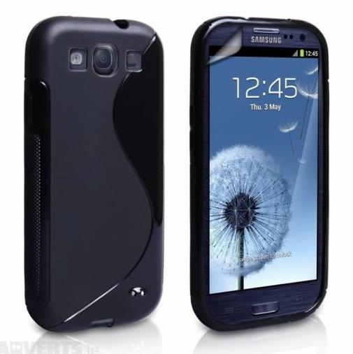 Samsung Galaxy S3 S-Line Case - Black