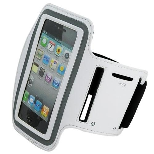 iPhone 4S Sports Running case - White