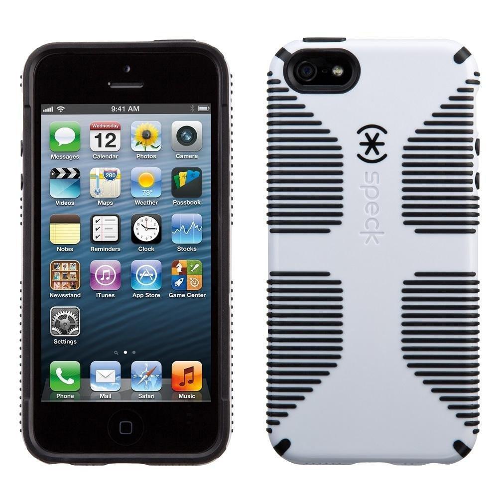 iPhone 5/5s/SE CandyShell Grip White/Black