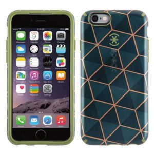 peck iPhone 6s Case Stacked Cube Green
